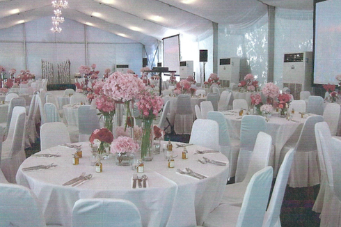 Wedding Event Flower Decorations
